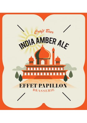 BIERE EFFET PAPILLON INDIA AMBER