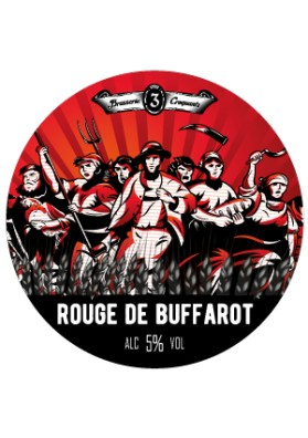 BIERE ROUGE DE BUFFAROT 3 CROQUANTS