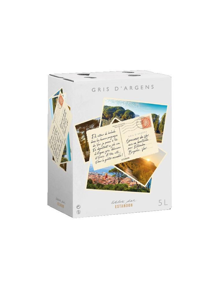GRIS D'ARGENS BIB 5 L
