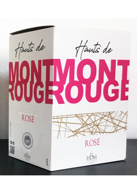 MONTROUGE ROSE BIB 5 L